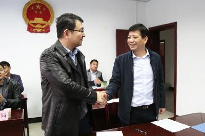 通城县政府与中伏能源集团举行风电开发项目签约仪式 项目总投资25亿