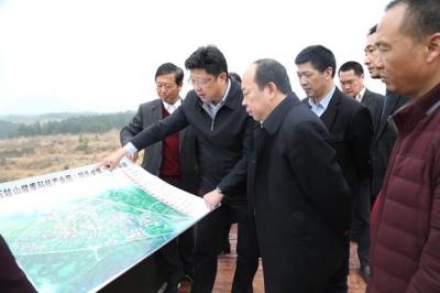 中建三局投资发展公司来通城投资考察