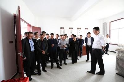 崇阳县党政代表团来通城参观考察美丽乡村建设工作