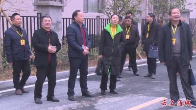 县人大常委会组织人大代表视察县司法局工作