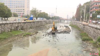 东阁景观桥拦水闸工程开工建设