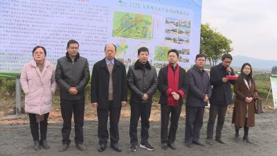 九井峰茶文化品赏园正式签约、开工