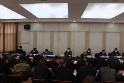 【通城】2020年第3次县政府常务会召开
