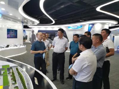 熊亚平赴广东粤港澳大湾区国家纳米科技创新研究院考察学习