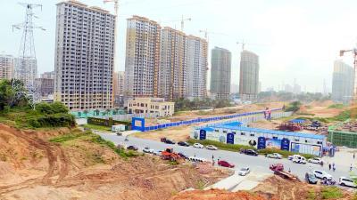 通城县鄂南农贸大市场项目开工