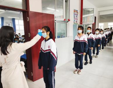 通城县实验学校:防疫不松懈,演练筑安全