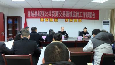 通城县:开展招投标领域专项整治推动营商环境不断优化