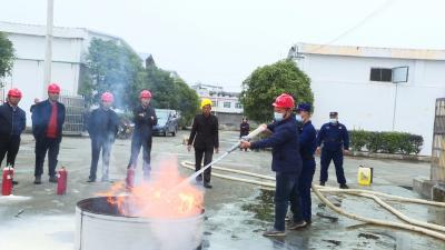 县发改局:消防安全不容忽视 培训演练力保平安