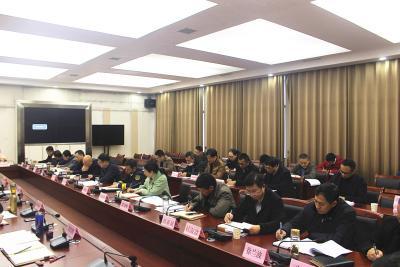 2020年第21次通城县政府常务会召开