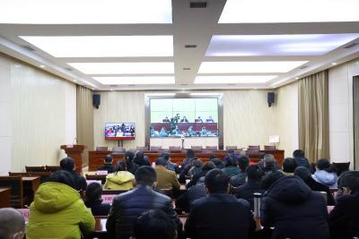 湖北省动员部署冬春火灾防控工作