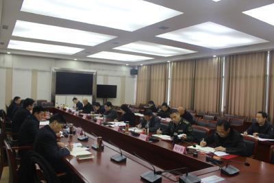 县委常委会2020年第23次会议召开