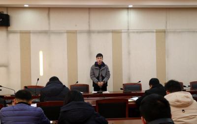 """县委办公室举行""""干部职工综合能力提升"""" 演讲比赛"""