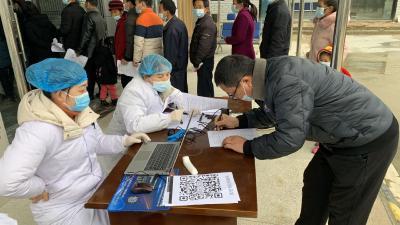 通城县四庄乡有序开展新冠疫苗免费接种工作