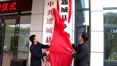通城县乡村振兴学校揭牌成立