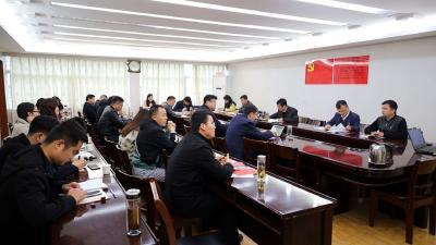 通城县委办公室机关党支部开展2021年第4期主题党日活动
