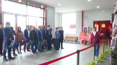【党史学习教育】咸宁市供销社来通城开展党史学习教育