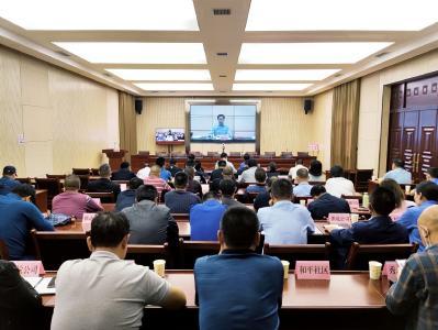 2021年咸宁市城市管理工作暨城管领导小组第二次联席会召开