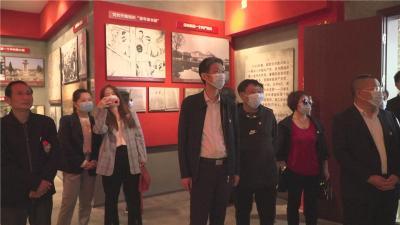 咸宁市公共资源交易中心党员到红色通城开展党史学习教育实践