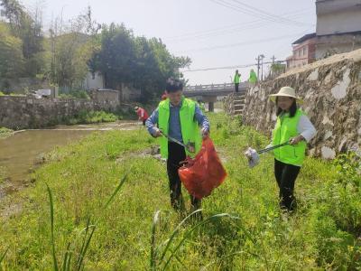 通城开展环保公益活动