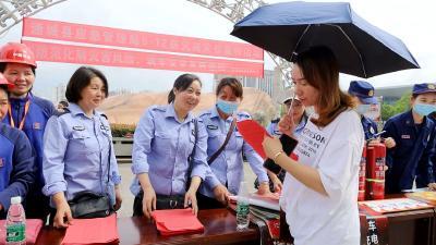 """通城县开展""""5.12防灾减灾日""""宣传活动"""