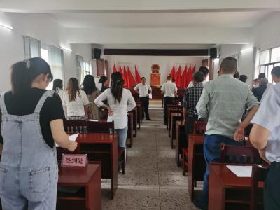 通城县马港镇:唱红歌颂党恩 献礼建党百年