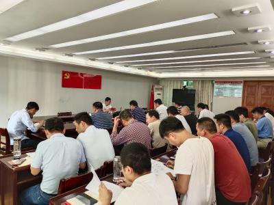 通城县委办公室机关党支部开展2021年第六期主题党日活动