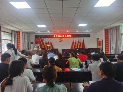 通城县麦市镇:红歌声声斗志昂 激情颂歌献给党