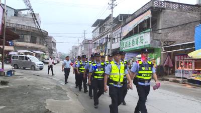 塘湖镇持续开展社会治安巡逻 提升居民安全感