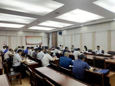 2021年第10次通城县政府常务会召开