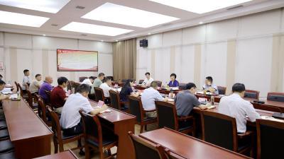通城县委常委会2021年第14次会议召开
