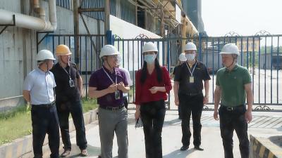 县领导到企业检查督办安全生产工作