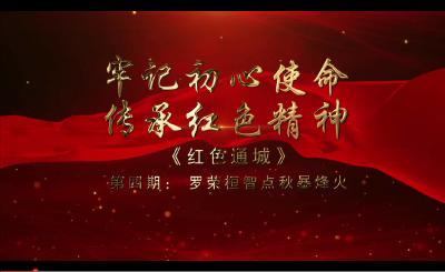 V视丨《红色通城》第四期 罗荣桓智点秋暴烽火