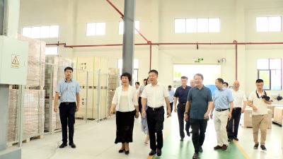 浙江省开化县党政代表团来通城考察
