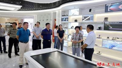 刘中英到通城经济开发区调研