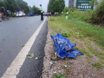 县交警大队快速破一起交通肇事逃逸案