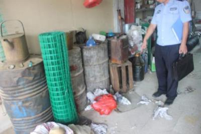 网易新闻:男子图小利非法储存买卖汽油被拘