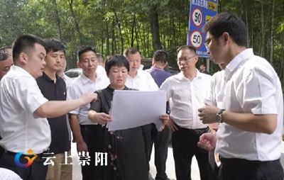 杭莺、郑俊华调研督办洪下线、崇赵线沿线人居环境整治工作