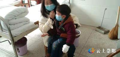 """暖心!崇阳刑警:为3岁受伤顽童开通救治""""绿色通道"""""""