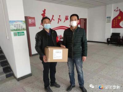 """肖岭乡:一线抗疫人员 请让我们""""罩""""顾你"""