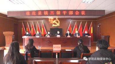 桂花泉镇、白霓镇、铜钟乡积极谋划2020年工作