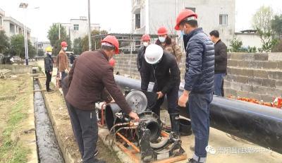 崇阳:水利项目复工复产 全面助力春耕生产