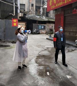 崇阳县税务局:传承雷锋精神 助力疫情防控