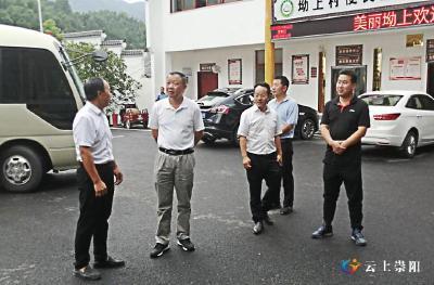 省农业农村厅调研组到崇阳调研农村人居环境整治工作