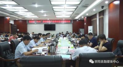"""安上高质量发展助推器——崇阳县强力推进""""六大""""活动综述"""