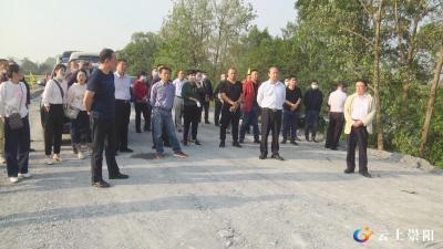 县交通运输局组织开展项目建设拉练检查