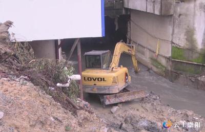 清淤护坡!中津洲碱水圳升级改造工程建设紧锣密鼓