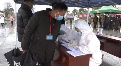 青山镇:这场应急演练 采集85份核酸样本