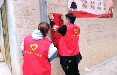 【红榜⑧】县疫情防控青年志愿服务队:我们的青春在绽放!