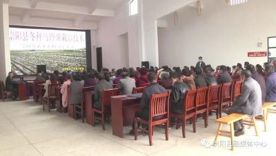 县农业农村局:课堂理论+田间实践 马铃薯种植技术送下乡