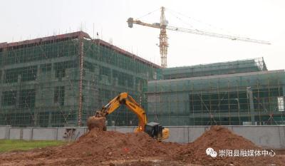 【聚焦重点项目建设⑭】总投资63.5亿元 崇阳县2021年二季度21个重大项目集中开工